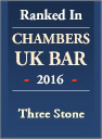 Ranked in Chambers UK Bar 2016